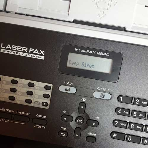 Old Fax Machine Method
